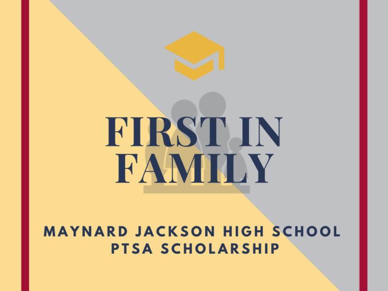 Accepting First in Family Scholarship Applications