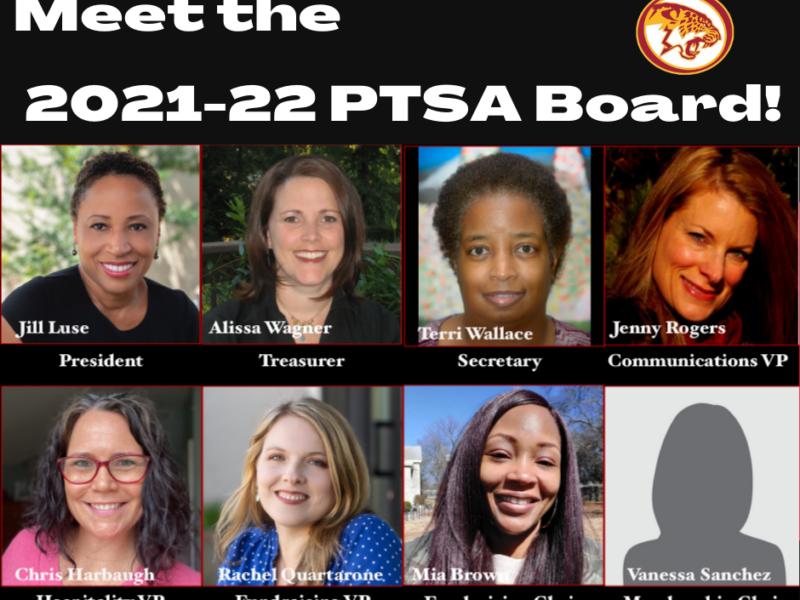 Meet the 2021 – 2022 MJHS PTSA Board